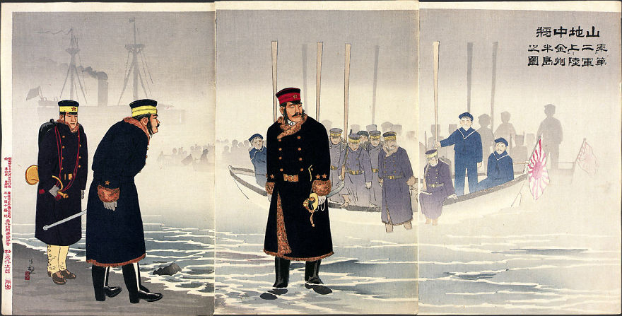 10 Beautiful Japanese War Prints