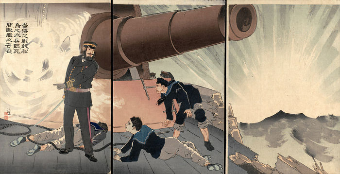 10 Beautiful Japanese War Prints