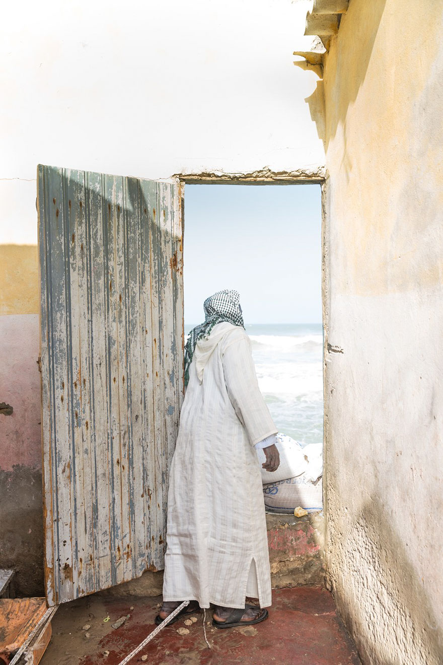 A Man Looks Out The Door, Sustainable Travel Finalist