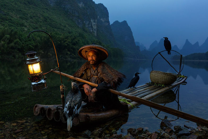 Cormorant Fisherman, People Finalist