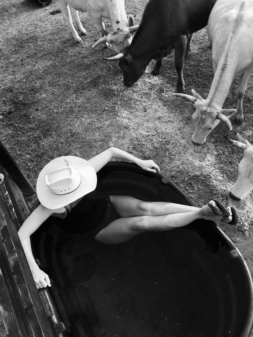Farm Girl Swimming Pool, The American Experience Finalist