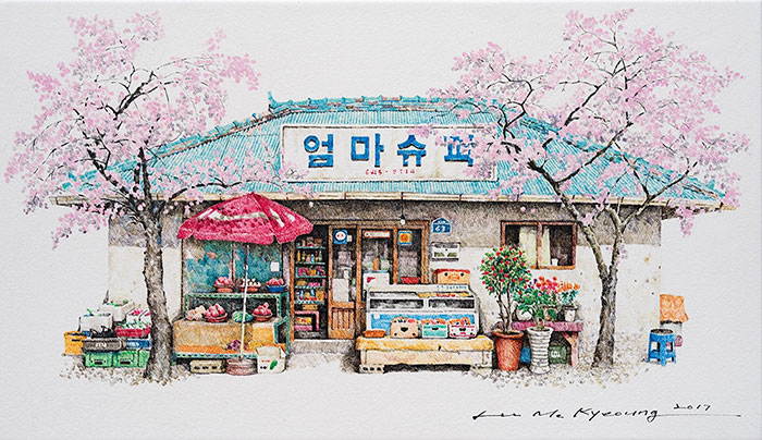 South Korean Store Drawings