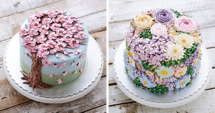 88 Blooming Flower Cakes To Celebrate The Return Of Spring Bored Panda