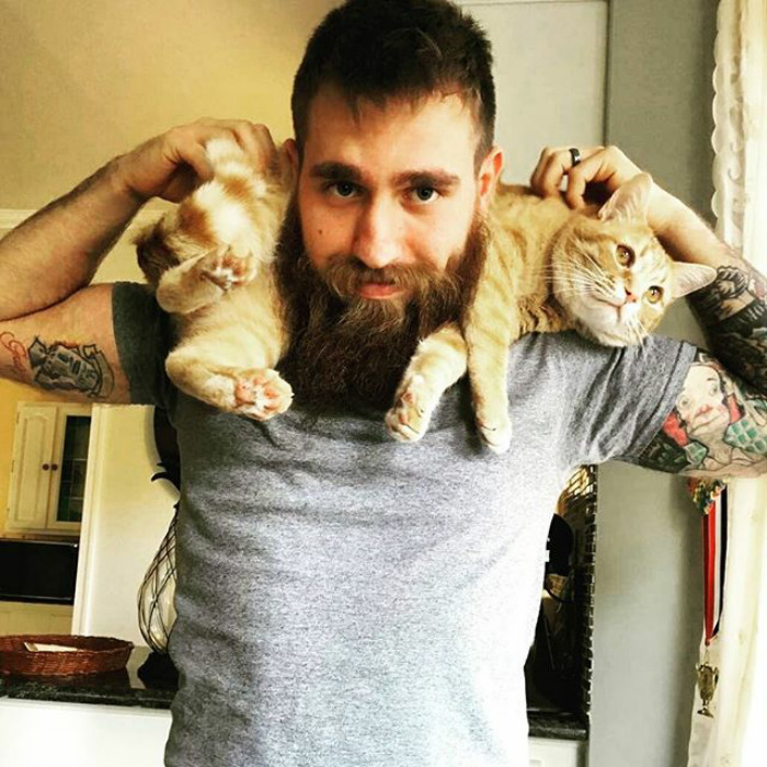 Dudes With Kittens