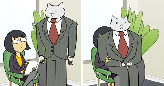 If Your Boss Was A Cat (10+ New Pics)