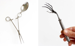 Experimental Cutlery Confronts The Traditional Ideas Of Tableware