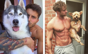 This Instagram Of Hot Dudes With Dogs Brings Two Of Our Favorite Things Together