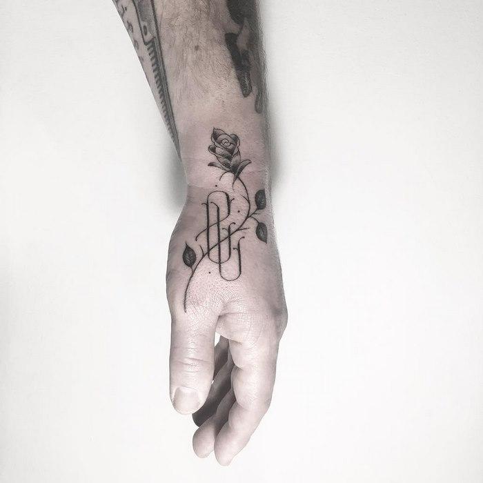Typographic Tattoos