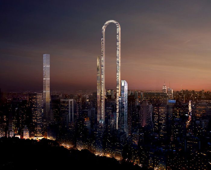 incredible u shaped skyscraper in new york is unveiled and