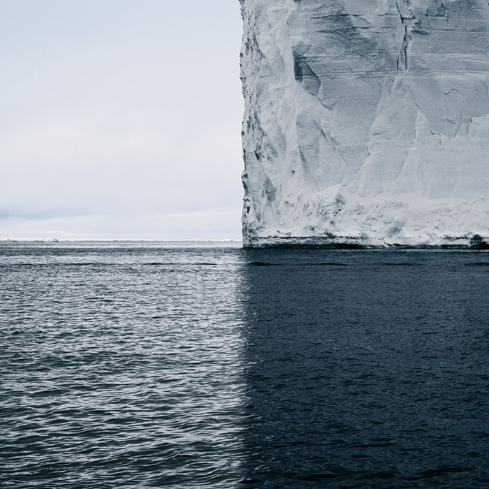 Antarctica, 4 Shades Of Blue