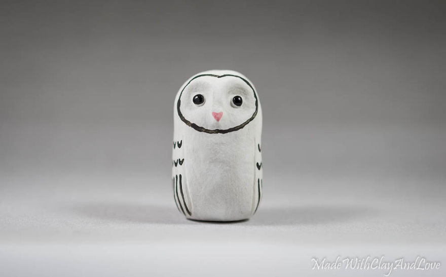 I Make Miniature Minimalist Ceramic Animals With A Touch Of Whimsy And Individual Personalities