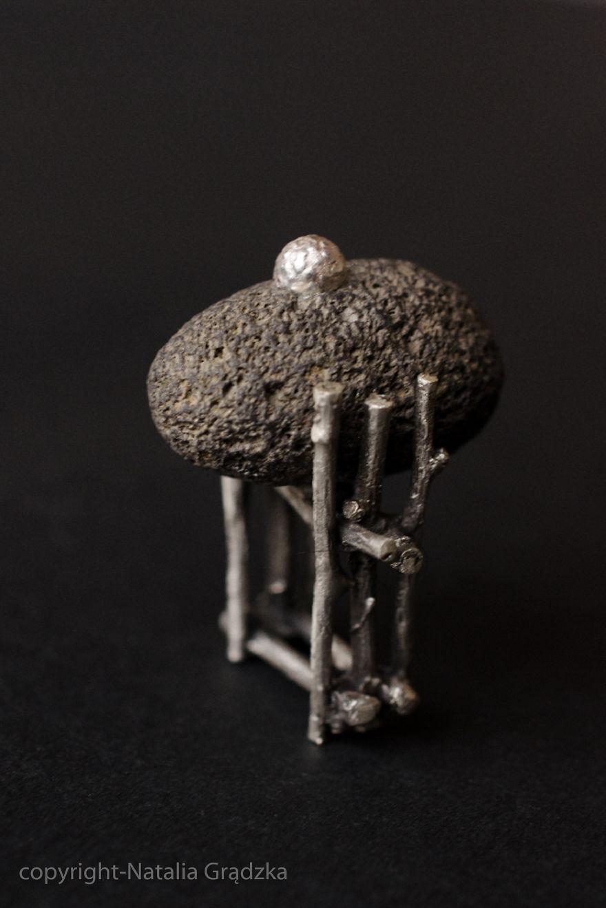 I Create Nature-inspired Stone Jewelry