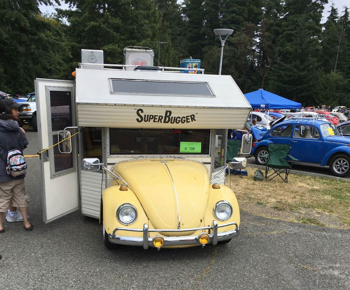 campers rv volkswagen are cutest blue ever s these from vw bugger made super things bug bugs the beetle camper
