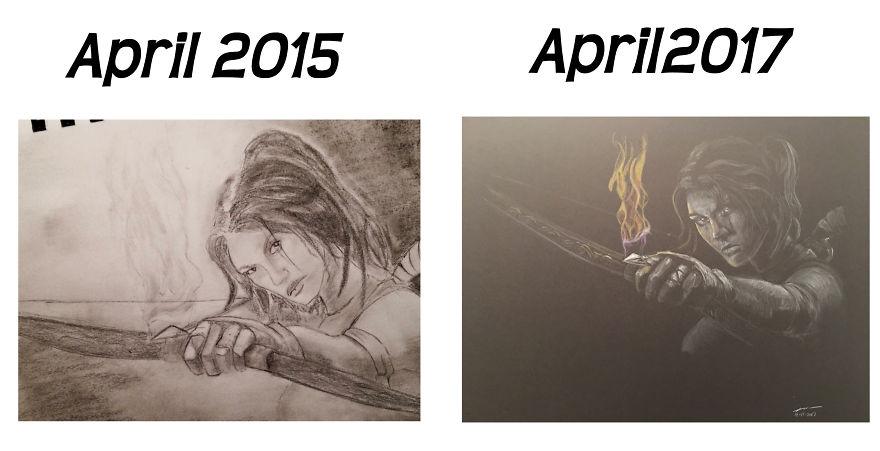 Firery Arrow