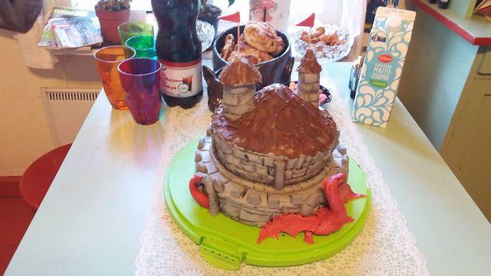 My 20th Birthday Cake Last Year