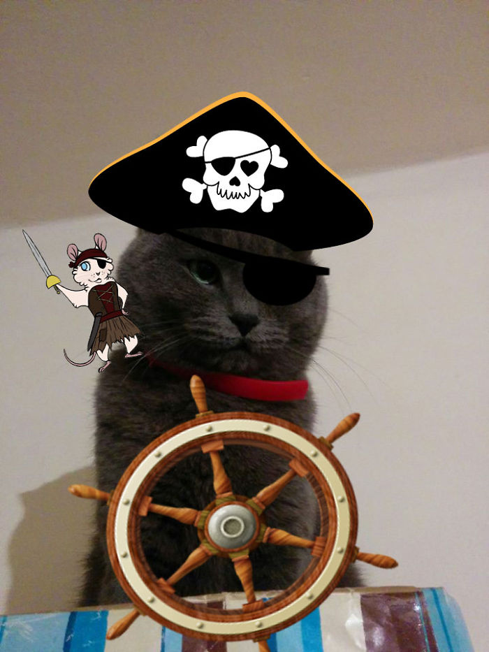 Do Not Worry Me Wee Bucko. Th' Red Dot Shall Be Ours Before I Sail Out.