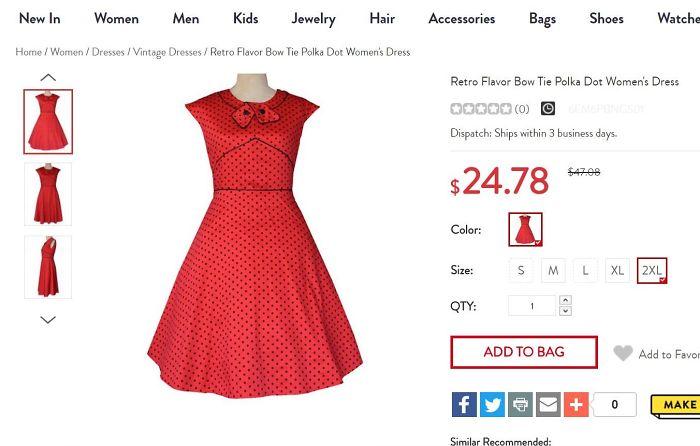 Somebody Hurt This Dress.
