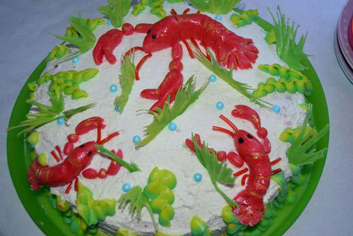 The Cake I Made For Crayfish Party In 2016