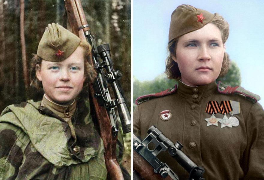 25soviet-female-snipers-colourised-photos-25