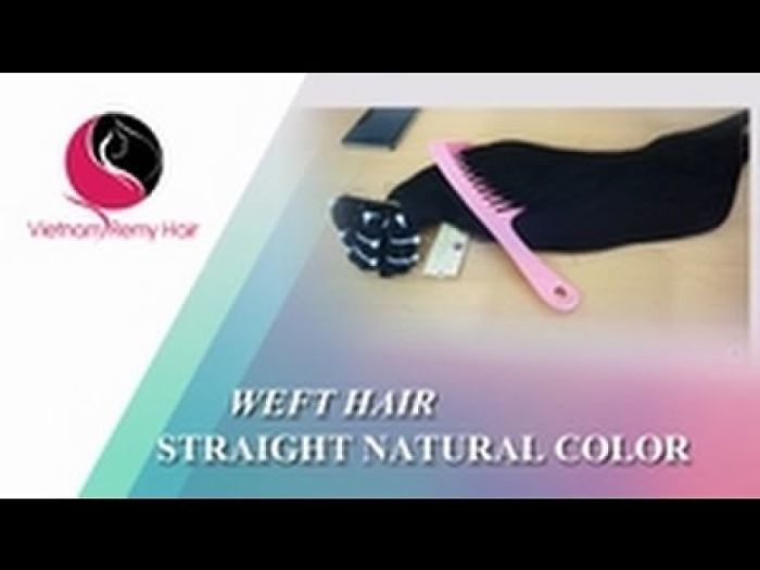 Vietnam Remy Hair| Weft Hair Straight Natural Color