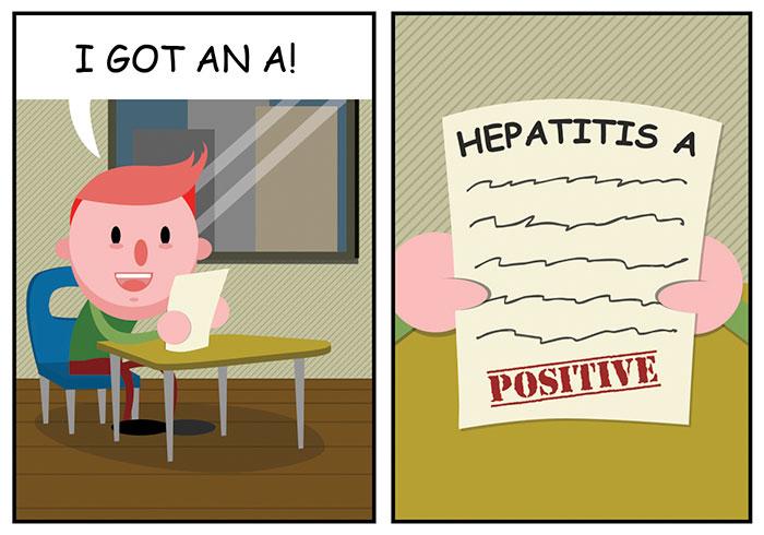 Dark Comics About A Horrible Optimist Kevin (5+ New Pics)