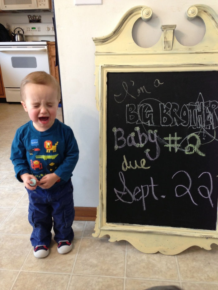 My Sons Reaction After Reading The Chalkboard To Him