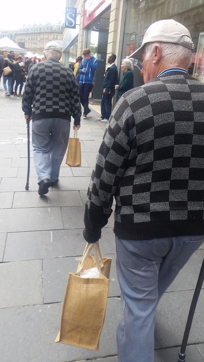 Spotted A Glitch In The Matrix Today