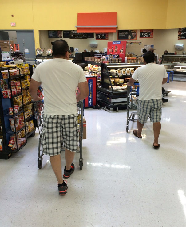 I Witnessed A Glitch In The Matrix At Walmart Today