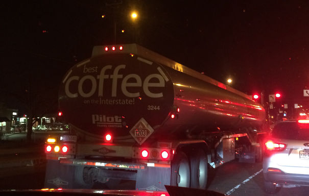 "Wife Asked Me ""Is That Thing Full Of Coffee?"""