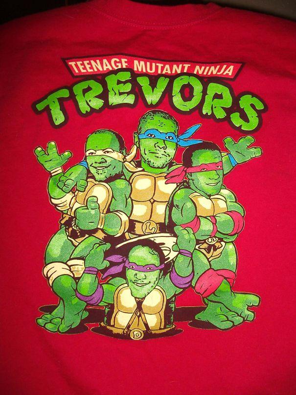 T-Shirt I Made For My Husband, Trevor