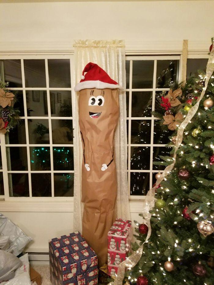 Así envolvió mi madre una alfombra de regalo para mi hermana