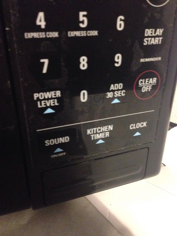 The Microwave I Use At Work Has A Button To Turn Off The Sound, So It Doesn't Beep When Your Food Is Done