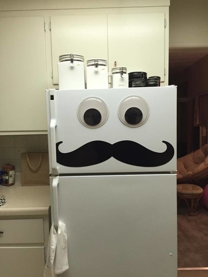 Meet My Fridge. His Name Is The Chef