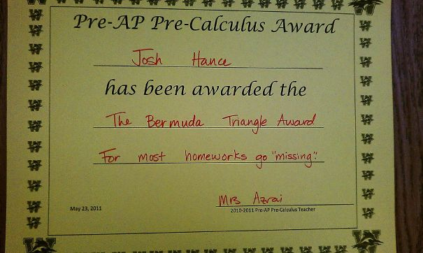 Look What I Got From My Teacher