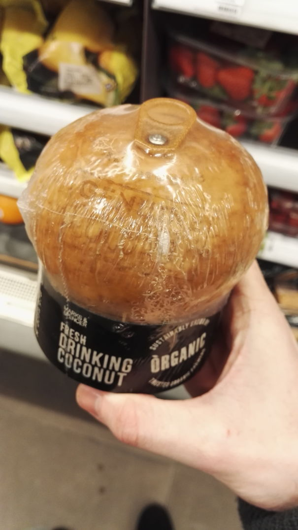 This Coconut Has A Pull Top