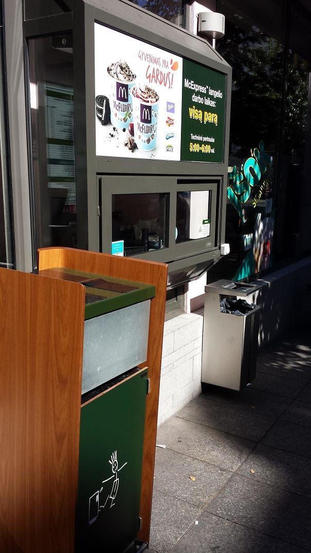 Mcdonald's In My City Has A Walk-Thru