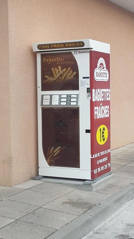My Town Has A Baguette Vending Machine