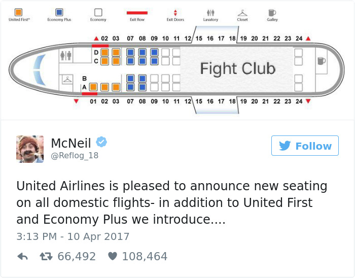 The First Rule Of United Airlines