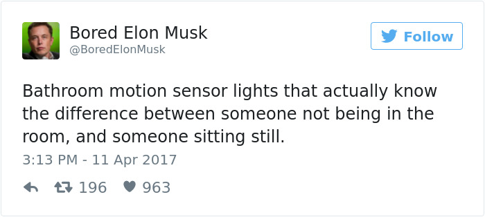 Bored Elon Musk Tweets