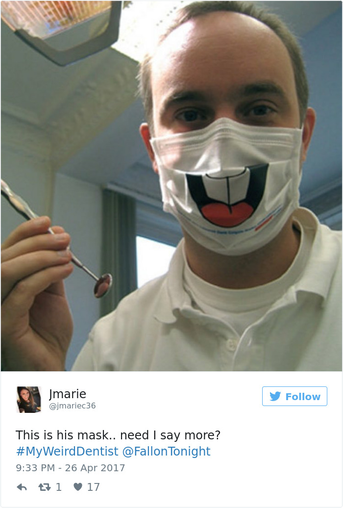 My Weird Dentist Tweets