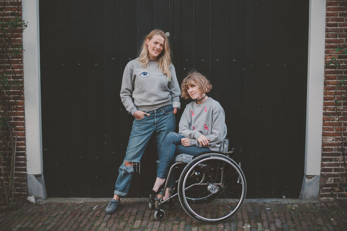 A Fashion Shoot With Two Disabled Models!