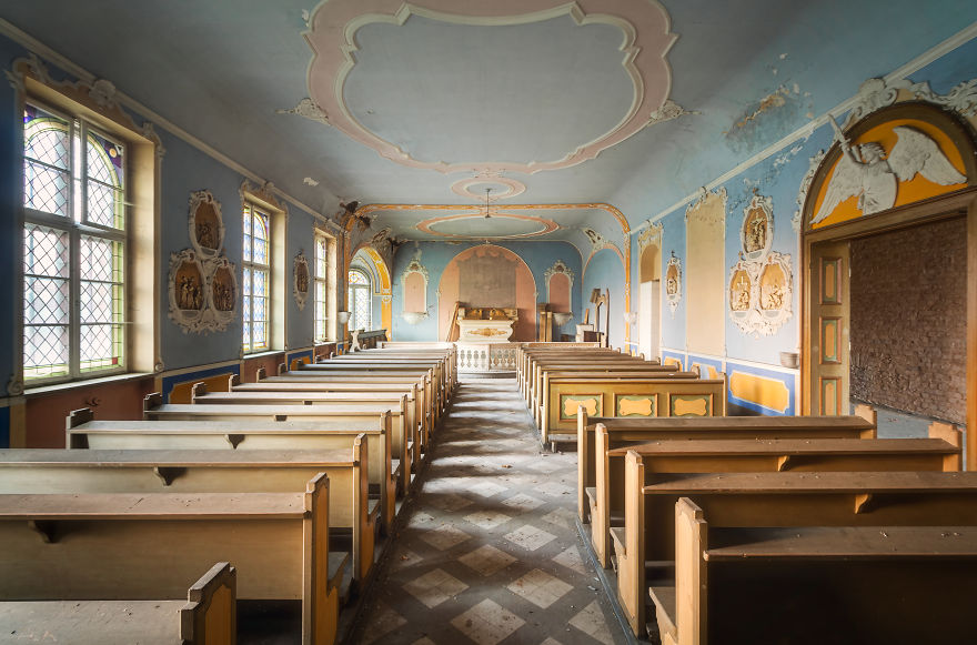 Chapel In Poland