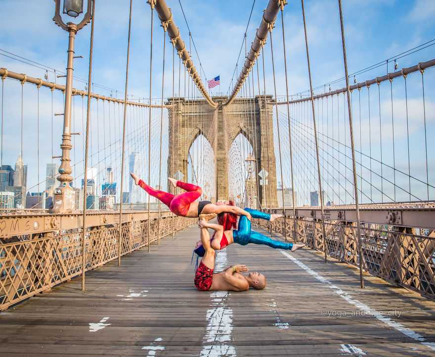 """""""yoga And The City""""- Incredible Photo Project By Alexey Wind"""