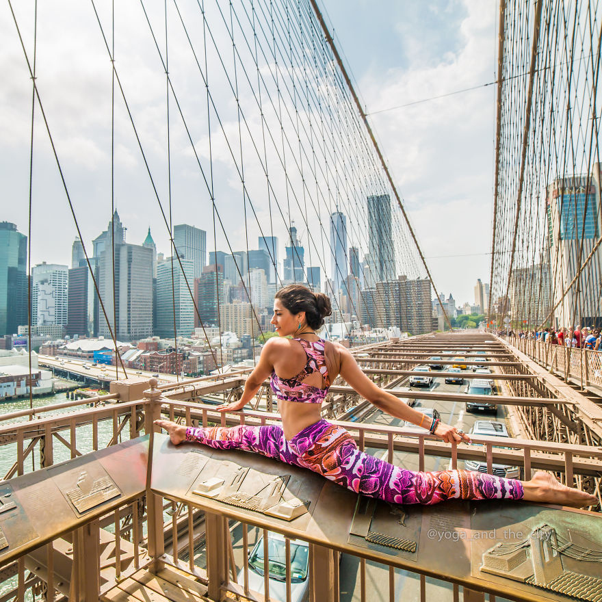 """yoga And The City""- Incredible Photo Project By Alexey Wind"