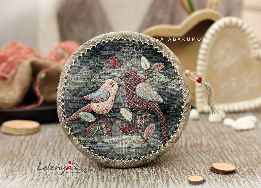 Attention To Details: Japanese Patchwork By Olga Abakumova