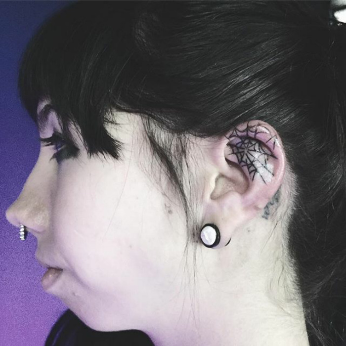 37 Ear Tattoos See Which Made Our 1: Helix Tattoo Trend Is Taking Over Instagram, And These 10