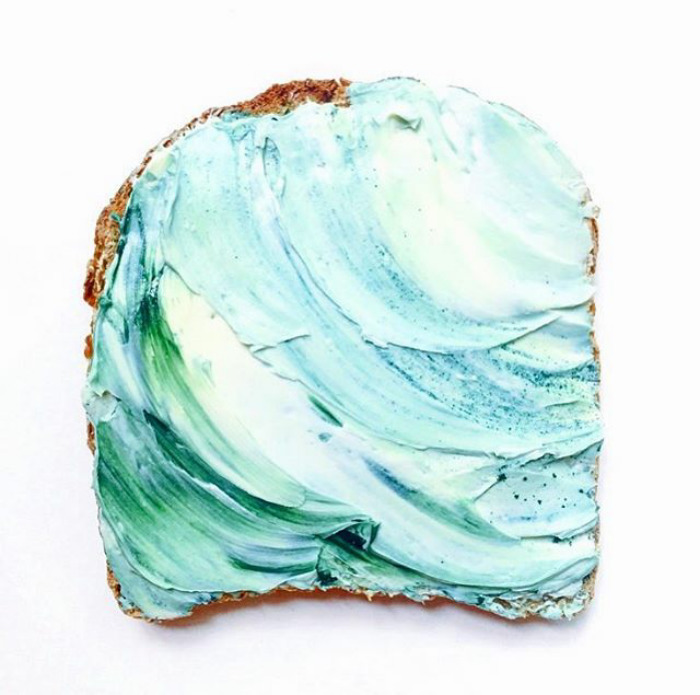 Mermaid Toast
