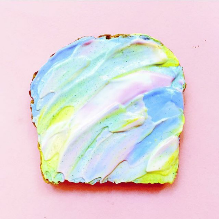 Mermaid Toast
