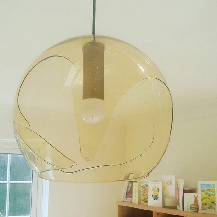 When Your Husband Smashes His Head Straight Through Your Brand New Lampshade