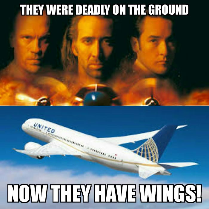 United Con-airlines